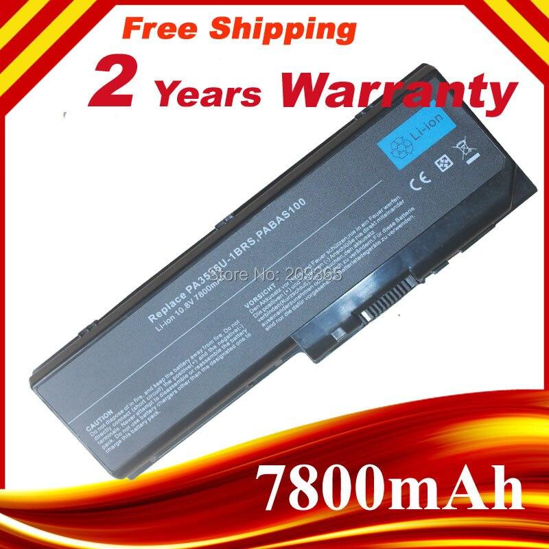 9 cellules 7800 mAh portable batterie pour Toshiba Satellite P200-10G pa3536u - 1brs pour Toshiba Equium P200 P300