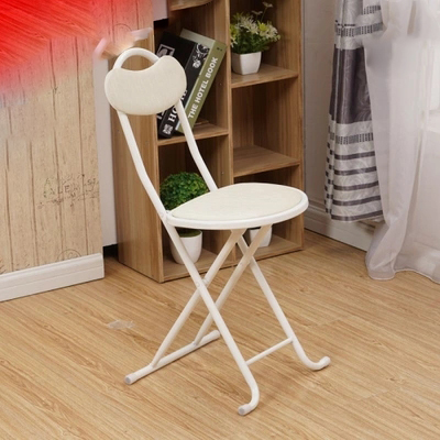 купить Folding stool plastic household stool folding chair home stool dining stool outdoor folding portable chair dining chair chair