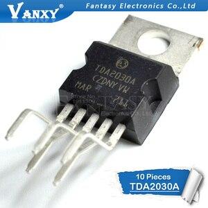 Image 2 - 10 Pcs TDA2030 TO220 5 TDA2030A To 220 Lineare Audio Amplificatore Corto Circuito E Protezione Termica Ic