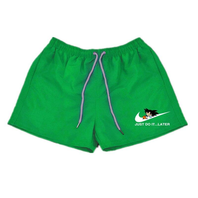 2018 Dragon Ball Men's   Board     Shorts   Summer fashion Beach   Shorts   Swimwear Men Boardshorts Man Bermuda Swimsuit