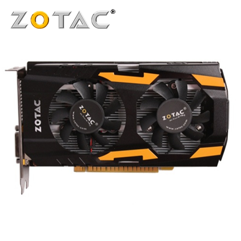 Видеокарта ZOTAC GeForce GTX 650 Ti 1GD5 1 ГБ 128 бит GTX650 GDDR5, графические карты для nVIDIA, оригинальная карта GTX650Ti Hdmi Dvi