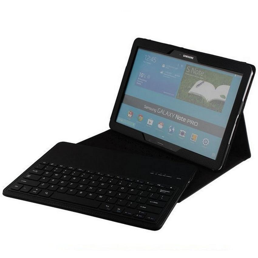 Съемный Беспроводной Bluetooth клавиатура кожаный чехол для samsung GALAXY Tab PRO P900  ...
