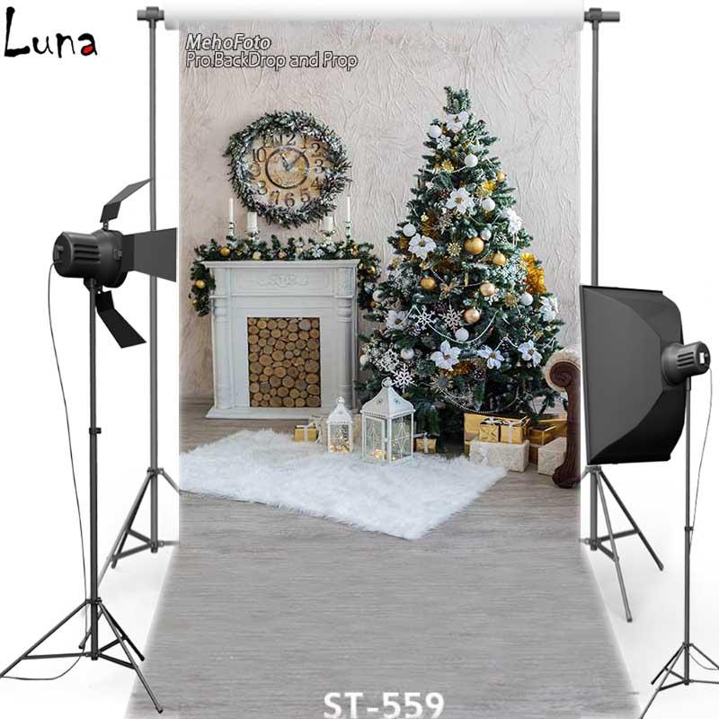 rbol de navidad de fondo telones de fondo de vinilo photography fondo piso de madera oxford