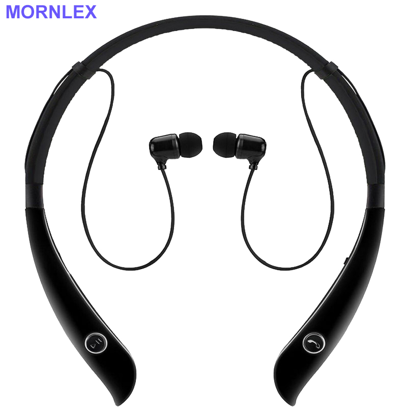 Fone de ouvido bluetooth sem fio wireless headphones with microphone neckband mini in-ear earpiece cordless sports headphone