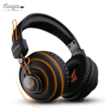 Gaming Headset Earphones & Headphones With Microphone Large Earmuffs Gamer Studio Bass Noise Isolating Model Ovann three.5mm