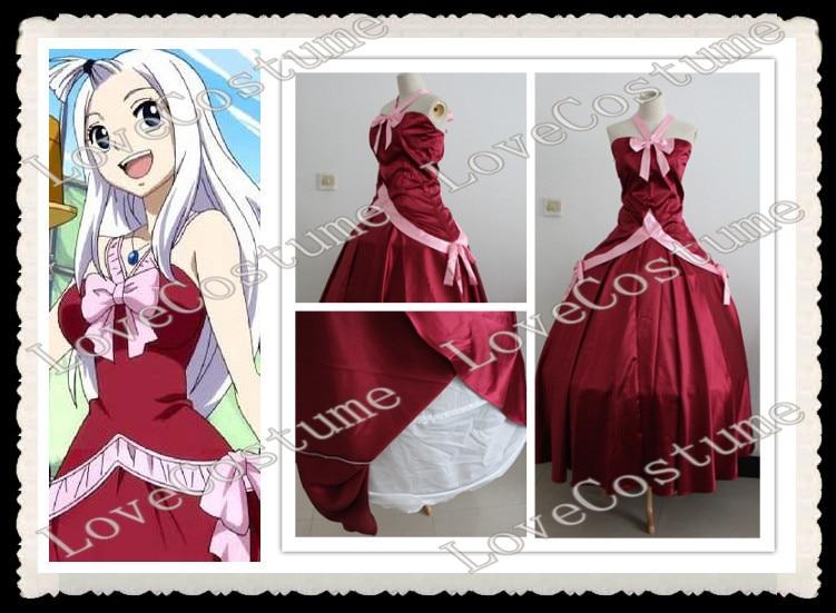 Fairy Tail Mirajane Strauss Fancy Dress Cosplay Costume Halloween Custom Made
