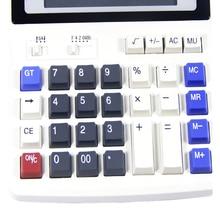 Большие кнопки офисный калькулятор большие компьютерные клавиши Мультифункциональный компьютер батарея калькулятор