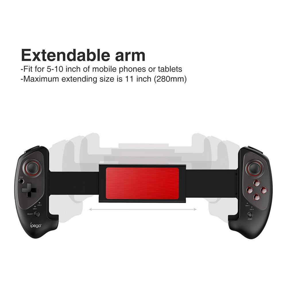 Ipega 9083 Wireless Game Pad Bluetooth Gamepad Controller Mobile Trigger  Joystick For Android Cell Phone Console pubg Dzhostik