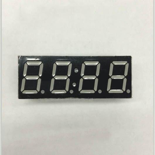 Бесплатная доставка общий анод/общий катод 0.56 дюймов цифровые часы трубки 4 биты цифровой пробки светодиодным дисплеем 0.56 дюйма красный циф...