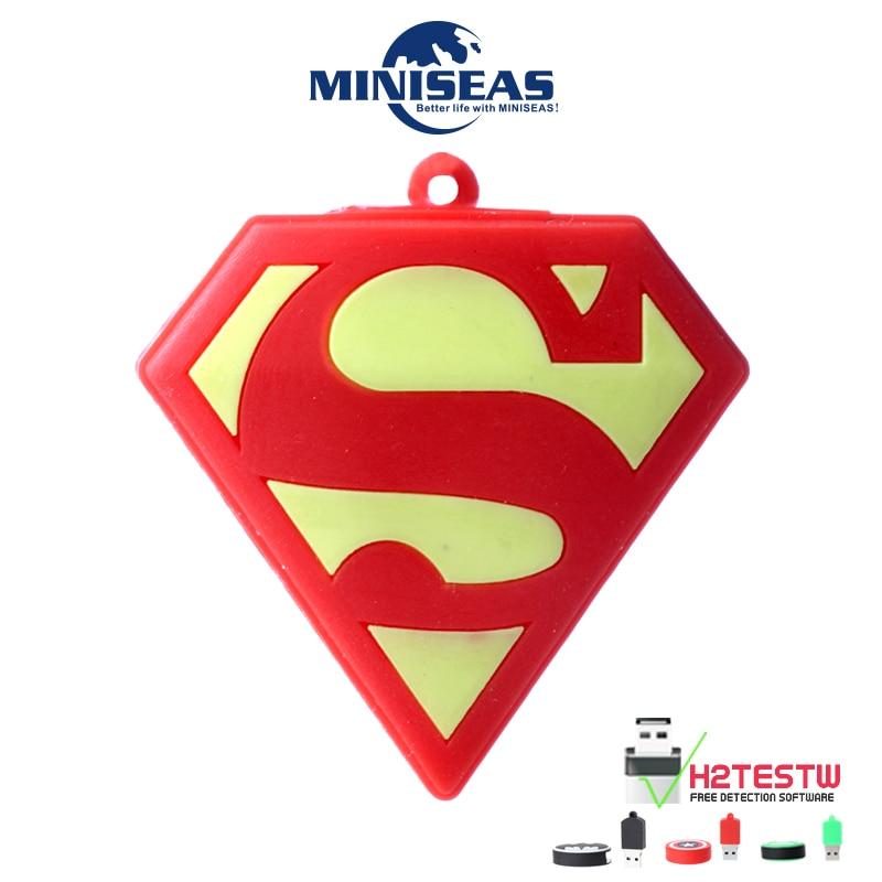 Miniseas Usb-Stick Hero 8G 16G 32G 64G Reale Kapazität Speicher USB Stick...