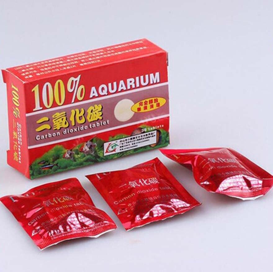 Новинка,, 36 шт., фирменные необходимые условия для растений, таблеток, диоксид, аквариум, углеродные детали, СО2, растения для растений, рыб, для аквариума