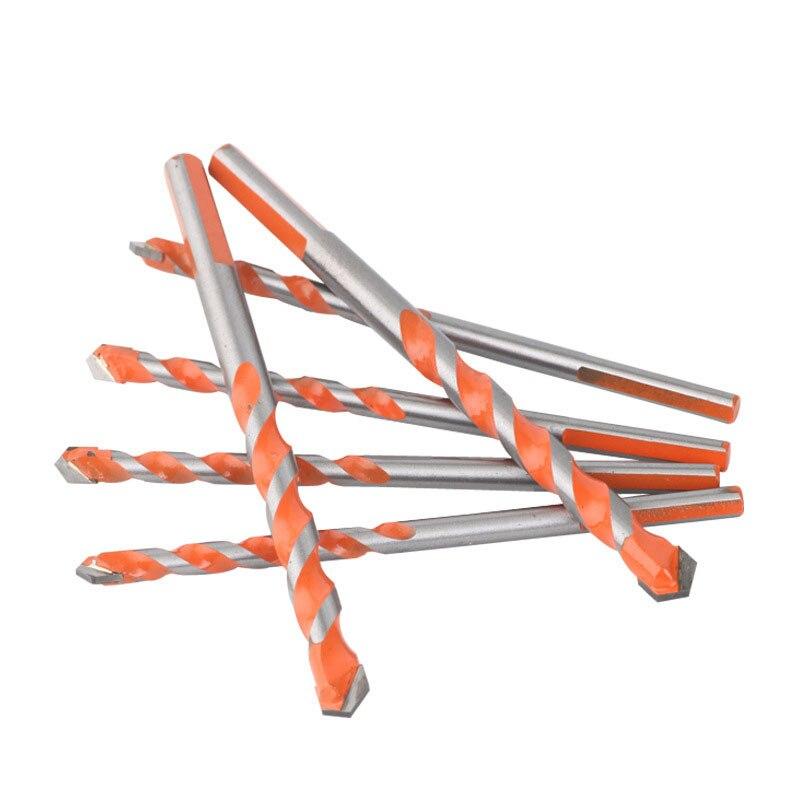 6/8/10/12mm Hole Saw Drill Bits 4 Pcs Titanium Coated Sawtooth Drill Bit Tool Set For Cutting Carpenter Woodworking Metal