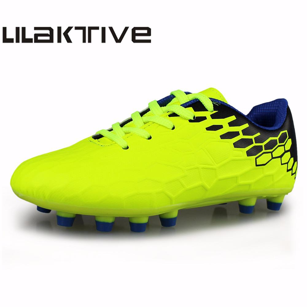 Professional Boys Spike Soccer Shoes Kids Outdoor Football Shoes Kids Sport Shoes(China)