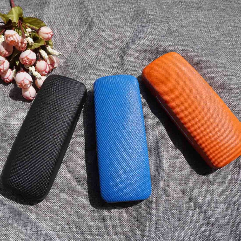 Non-slip Stereo Glasses Case Men Women Sport Style Eyewear Case Colorful Leisure Glasses Box Clean Cloth Screw Driver 3 In 1 Set Clear And Distinctive