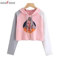 Billie Eilish hoodie Women 2019 sweatshirt streetwear Hooded female Harajuku Hoodies top sweatshirts Print Clothes Plus Size 1