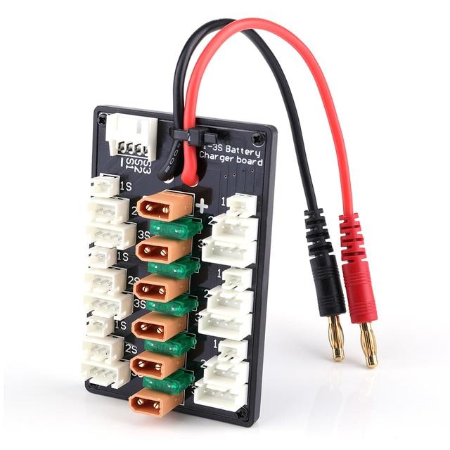 1-3 S XT30 Plug li-po batterie carte de charge parallèle 6 pcs XT30 mâle à JST câbles femelles pour IMAX B6 chargeur RC pièces de batterie 2