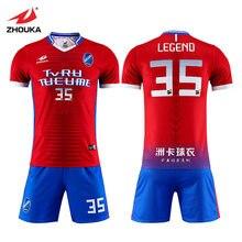 cdde8aace8c Sublimated high school custom kids generic football jersey sports design  soccer kit maker football player uniform