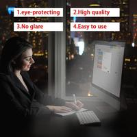 Screenbar E Reading Lamp USB Computer Monitor Lamp Eye Care Light Adjustable Brightness And Color Temperature