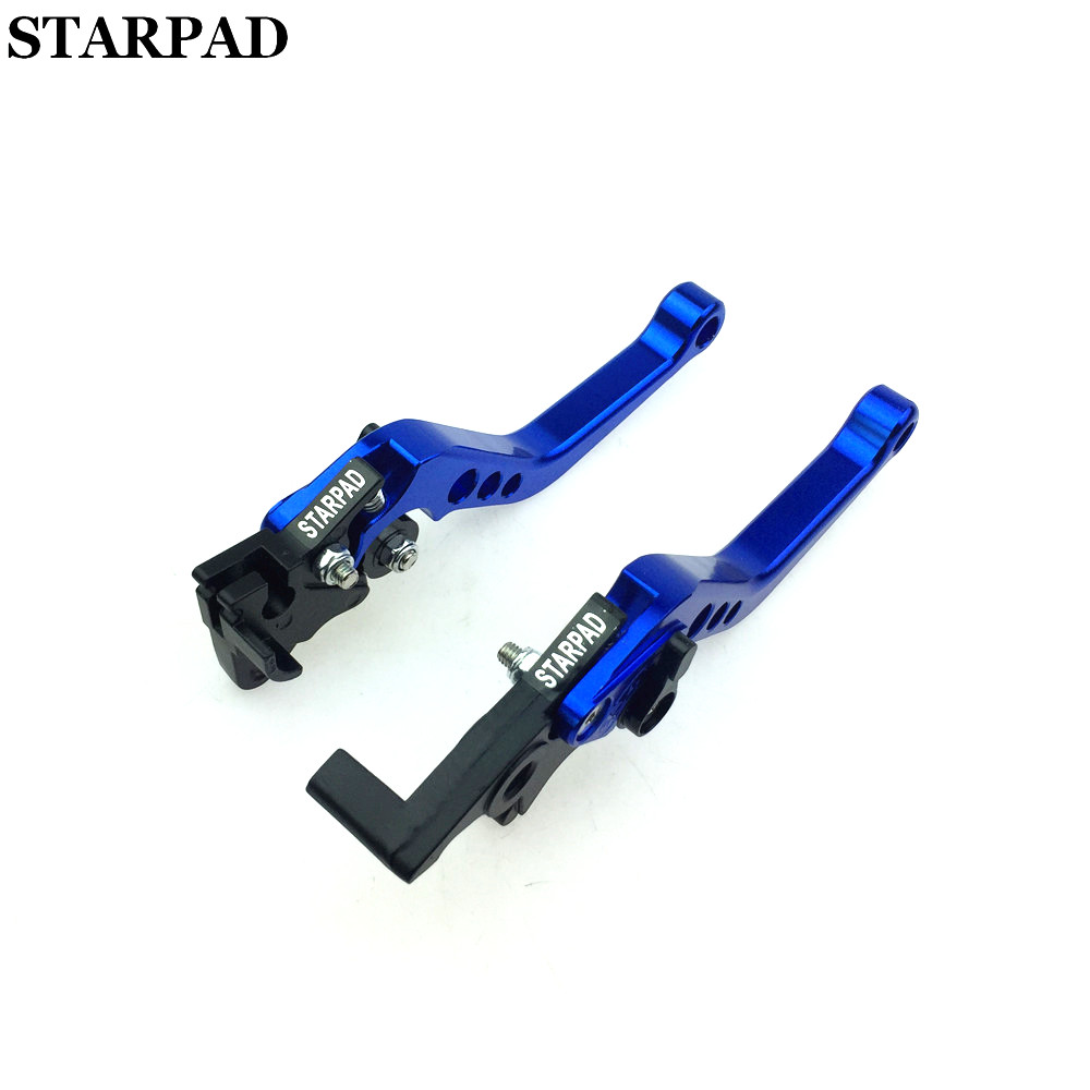 STARPAD Moped motorcycle accessories modified for Eagle imitation for FLUKE fast hand brake lever adjustable handlebar horns GY6 in Grips from Automobiles Motorcycles