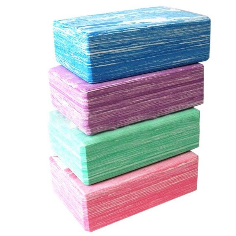 Yoga Blocks Balance Aid EVA 23*15*7.5cm Strength Flexibility Fitness Exercise Pilates Yoga Brick