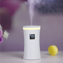 230ml Cup Shape USB Air Humidifier 3 Colors Mist Maker Fogger  With Led Light For Home Office Car