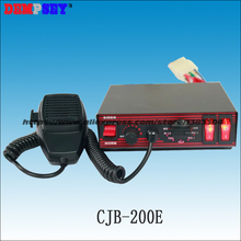 CJB-200E High-quality, high-power wires Car siren,DC12V fire truck / emergency vehicle alarm, 200w Police siren ,7Tone cjb 200z coxswain 200w siren 7 tones with microphone 2 light switch volume adjustable come with 200w speaker