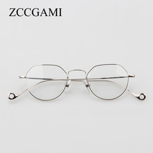 5bae89987e5 Fashion vintage Metal women eyeglasses frames retro round myopia clear  optical myopia designer glasses frame Men Eyepetizer 4088
