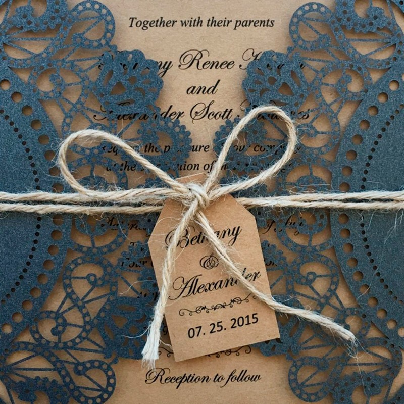 Rustic Invitation for Wedding