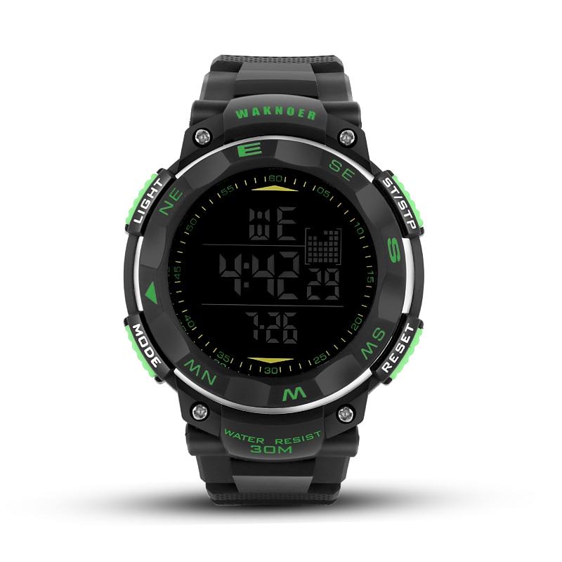 WAKNOER Fashion Digital font b Watch b font font b Sports b font font b Watches