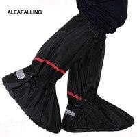 Aleafalling унисекс легко принести открытый Водонепроницаемый Многоразовые Дождь бахилы резиновые сапоги противоскольжения носить обувь на от...