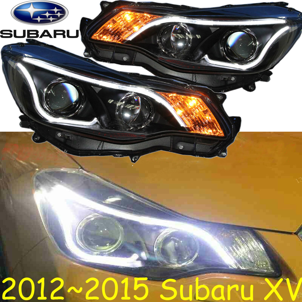 Subara XV headlight,2011~2014 (Fit for LHD,if RHD need add 200USD),Free ship!XV fog light,2ps/se+2pcs Ballast,Outback,XV cadilla srx headlight 2011 2015 fit for lhd if rhd need add 300usd free ship srx fog light 2ps set 2pcs ballast srx