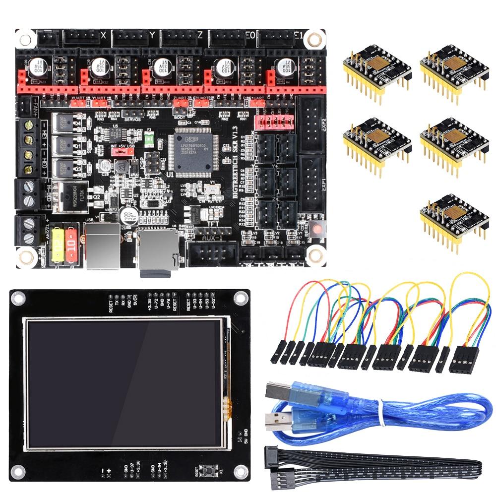 BIGTREETECH SKR V1.3 Smoothieboard 32 Bit+TMC5160 Driver+TFT35 Touch Screen 3D Printer Parts TMC2208 TMC2130 Reprap MKS GEN L  グループ上の パソコン & オフィス からの 3Dプリンタパーツ & アクセサリ の中 1