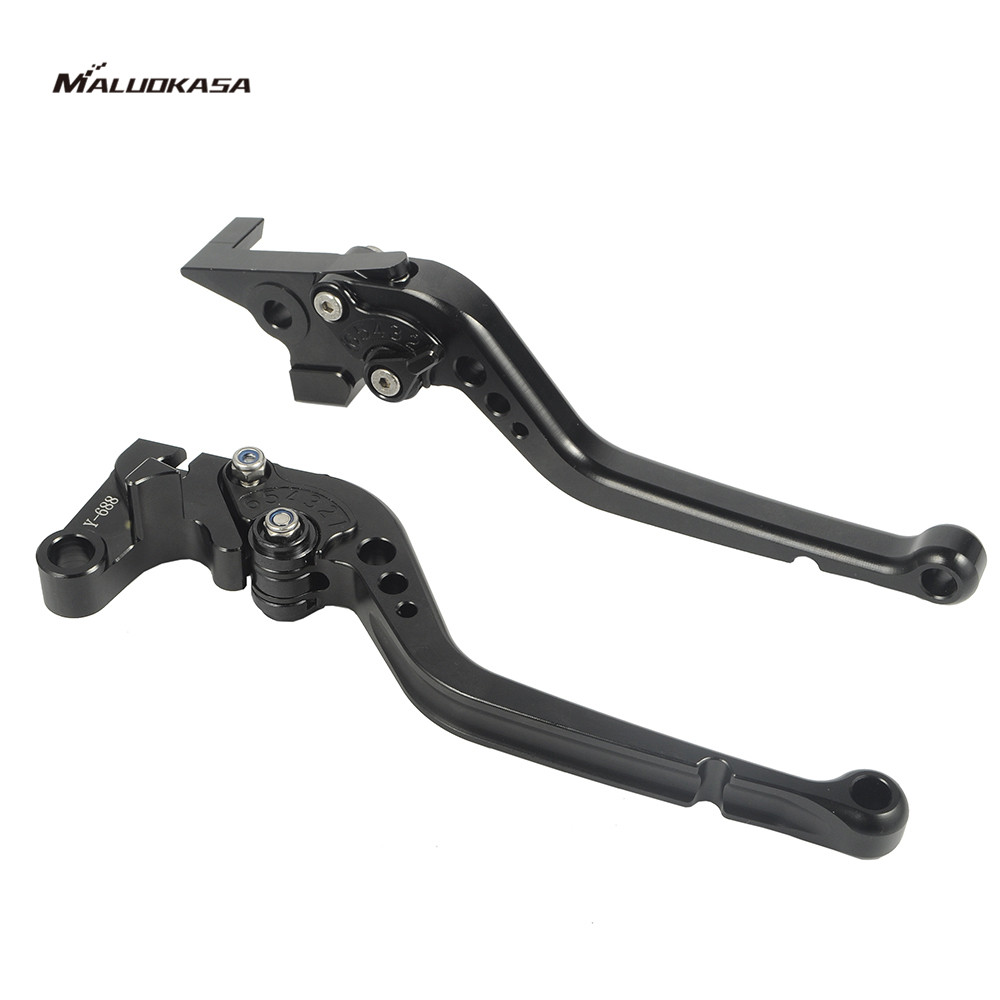 MALUOKASA Moto CNC Brake Clutch Levers For Yamaha FZ6 FAZER 2004-2012 Yamaha XJ6 DIVERSION 2009 2010 2011 2012 2013 2014 2015 motorcycle adjustable cnc aluminum brakes clutch levers set motorbike brake for yamaha fz1 fazer 2006 2013 xj6 diversion 09 15