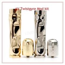 ชุดบุหรี่อิเล็กทรอนิกส์RDAเครื่องฉีดน้ำ18650กลสมัยAV TwistgyreบิดGyreสไตล์บุหรี่อิเล็กทรอนิกส์ชุดสมัยกลw/RDA