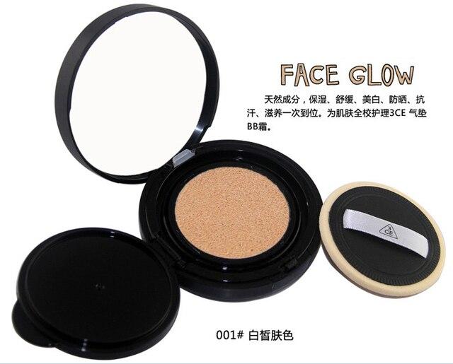 Us 9 09 3ce Authentic Korean Cream To Powder Foundation Air Cushion Bb Cream Makeup Whitening Skin Sun Block 15g T1112 Free Ship Di Dari