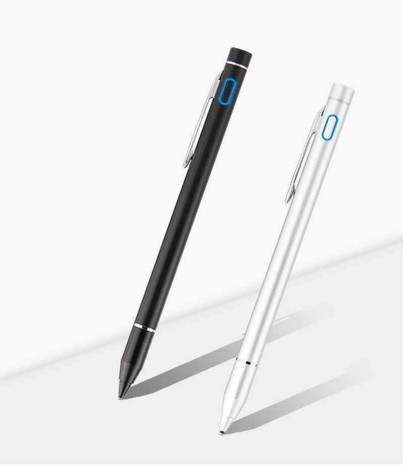 المنقار 1.3 ملليمتر النشطة بالسعة قلم شاشة اللمس لسامسونج غالاكسي تبويب S3 S2 S4 8 9.7 10.1 10.5 S E 9.6 8.0 7 T535 T530 اللوحي