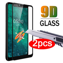 9D Full Cover Tempered Glass for Nokia 7 7plus 3.1 5.1 6.1 7