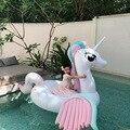 Поплавок для бассейна  250 см  гигантский Радужный Единорог  новейший Pegasus  Женское кольцо для плавания  надувной матрас  надувные игрушки для ...