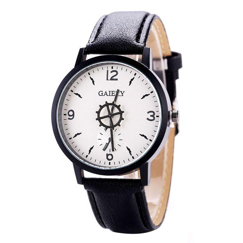 Stylowa osobowość Fashion Women Business Watch PU Watchband Casual - Zegarki damskie - Zdjęcie 1