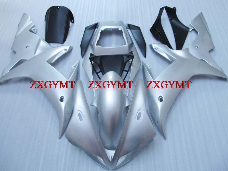 Abs Fairing for YZF1000 R1 2002 - 2003 Fairing Kits YZFR1 02 Silver White Body Kits for YAMAHA YZFR1 2003Abs Fairing for YZF1000 R1 2002 - 2003 Fairing Kits YZFR1 02 Silver White Body Kits for YAMAHA YZFR1 2003