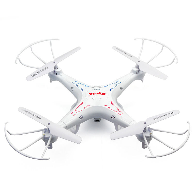 4 Battery Syma X5C 2 4G 6 Axis Gyro UAV RTF RC Quadcopter font b Drone