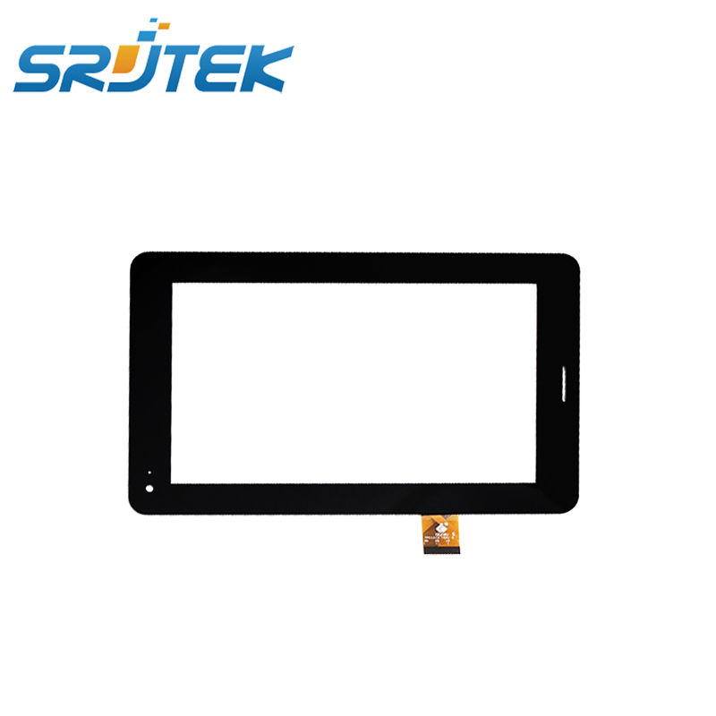 SRJTEK 7 inch For Megafon Login 2 Login2 MT3A TPC1219 Ver1.0 Touch Screen Capacitive Panel Digitizer Glass Sensor original touch screen panel digitizer glass sensor replacement for 7 megafon login 3 mt4a login3 tablet free shipping