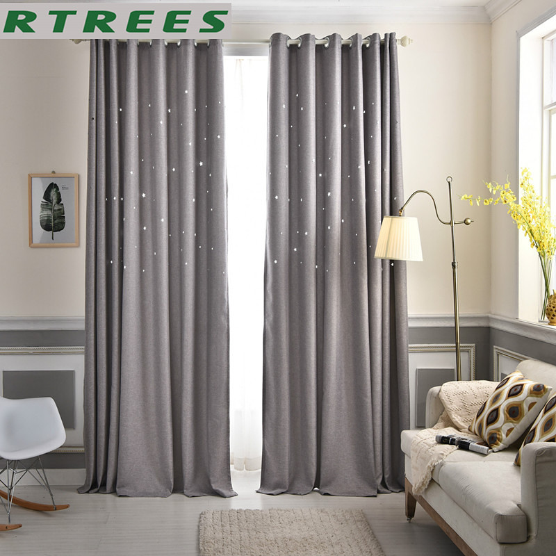 Modern Window Blackout Curtains For Bedroom Living Room Finished Window Curtains For Window