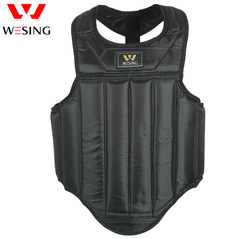 Karate Chest Guard Protector Adult Kids Karate Taekwondo Training MMA Martial Arts Chest Guard Vest Boxing Karate Body Protector Breast Protector Accessory