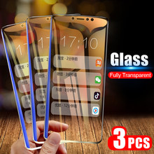 3pcs/Lot Tempered Glass Screen Protector For Xiaomi Pocophone F1 Mi9 9 8 se A3 A2 Lite A1 6 5X MiA3 Mi9T Mi8 MiA2 Mi6X MiA1 Mi6(China)