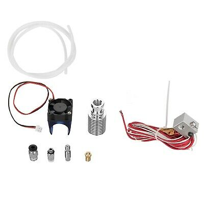 Image 3 - 0.2-1.0mm 19x Nozzles Metal 12V Extruder Set For 1.75mm 3D Printer Hot End Head