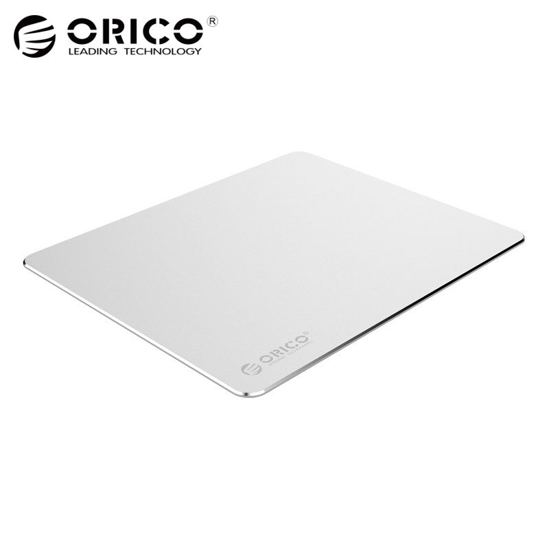 ORICO Aluminium Tapis de Souris avec 1.5mm En Aluminium et 0.5mm En Caoutchouc pour La Maison, Bureau, Entreprise, etc (AMP2218)