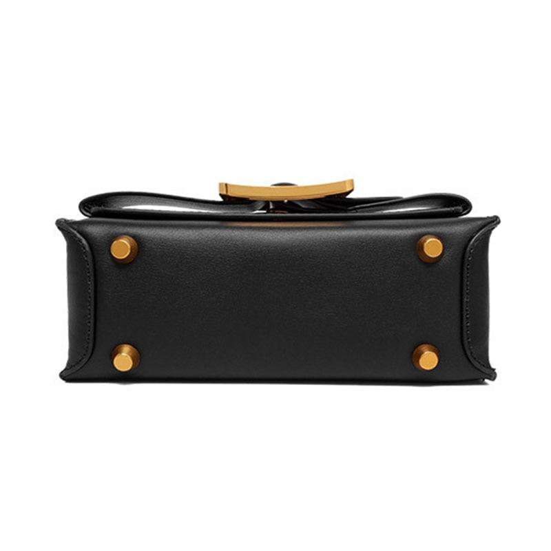 YeeSupSei แฟชั่น Sequined ตกแต่ง Flap กระเป๋าหนังแท้กระเป๋าสะพายกระเป๋าสะพายเล็กกระเป๋าเดียวกระเป๋า-ใน กระเป๋าสะพายไหล่ จาก สัมภาระและกระเป๋า บน   3