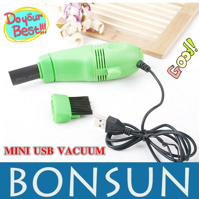 High qualiy Cheap Mini USB Vacuum Keyboard Cleaner Dust Collector Laptop Destop PC Notebook , best recomend free shipping