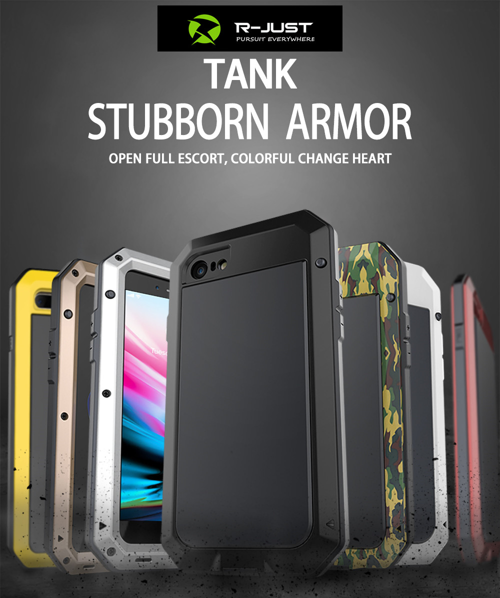 HTB1nU6aeFuWBuNjSszbq6AS7FXaq Heavy Duty Protection Doom armor Metal Aluminum phone Case for iPhone 11 Pro Max XR XS MAX 6 6S 7 8 Plus X 5S 5 Shockproof Cover